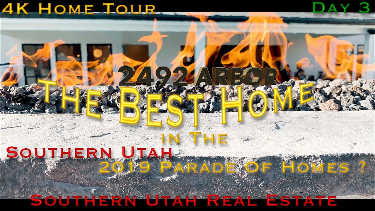 Parade Of Homes 2019 St George Utah Little Valley Day 3 Southern Utah Real Estate Youtube