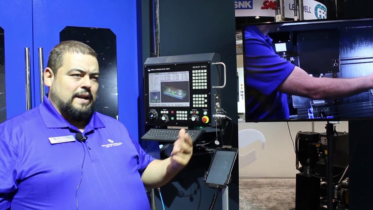 Milltronics presentó software para mejorar la productividad en el mecanizado