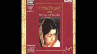 suhani raat dhal chuki - Lata pays tribute to  Muhammad Rafi