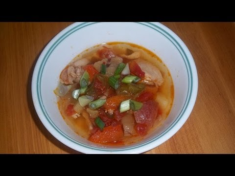 Recipe: Spicy Mexican Chicken Soup
