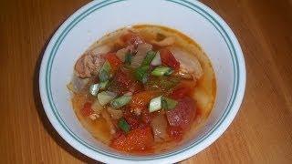 Crock-pot Recipe : Spicy Mexican Chicken Soup