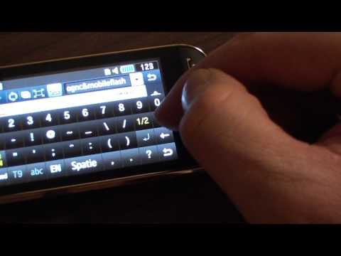 Samsung Jet s8000 Flash lite demo