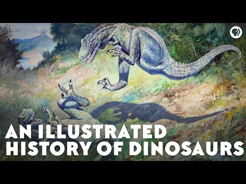 An Illustrated History of Dinosaurs