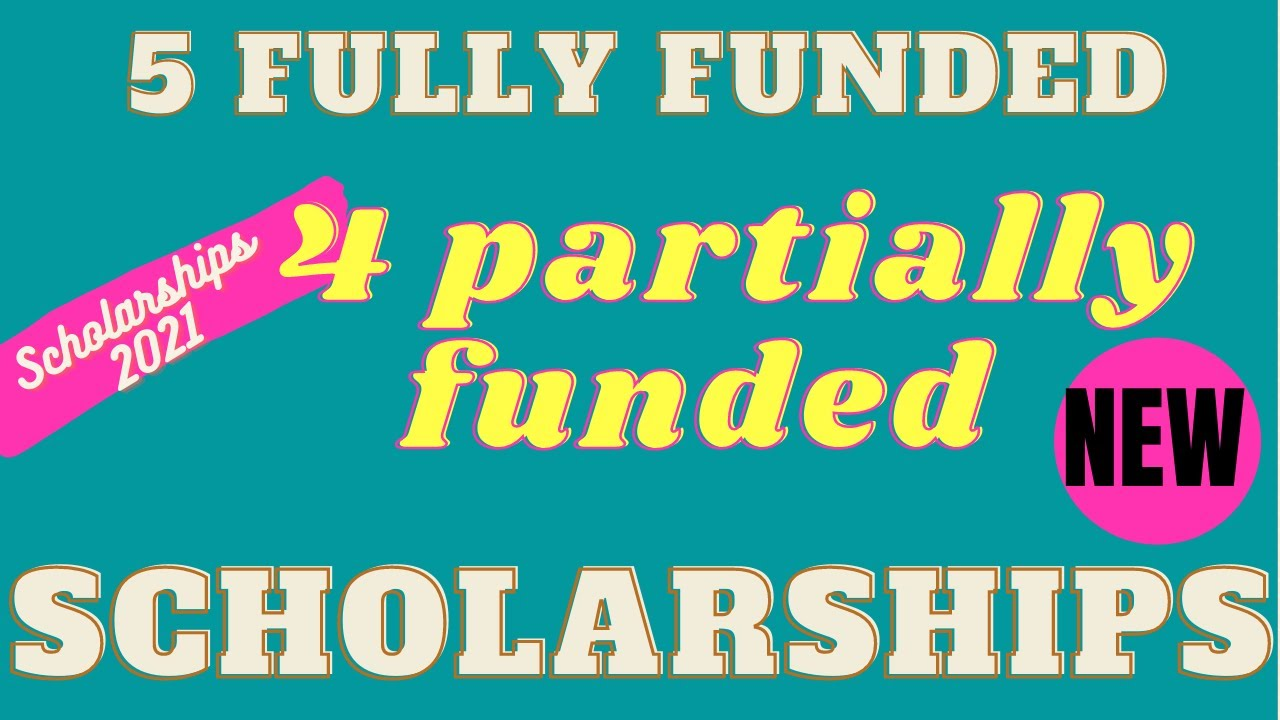 Study for free as an international Student (5 fully funded & 4 partially funded scholarships)