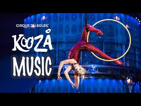 "Download KOOZA Music & Lyrics Video 🎉  ""L'Innocent""   NEW Cirque du Soleil 🎶Every TUESDAY!"