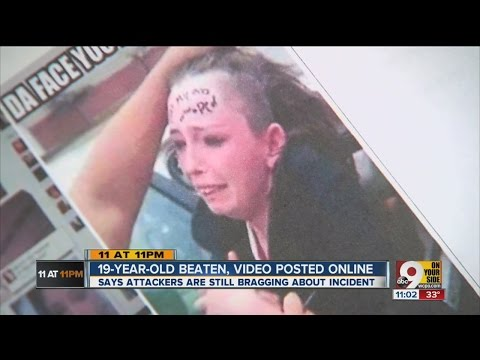 Woman's beating posted on Facebook