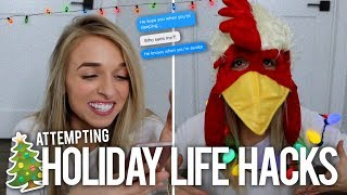 WEIRD HOLIDAY LIFE HACKS