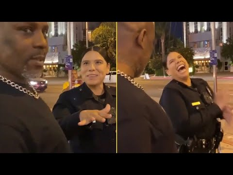 DMX Pulls Up On Police Lady And Her Reaction Was Too Funny 'Even Cops Showing Big Love To X Man'