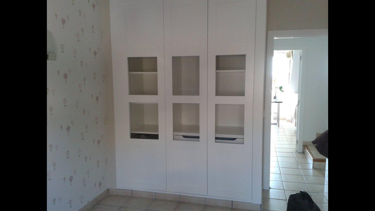 Renovar las puertas de un armario youtube - Renovar puertas sapelly ...