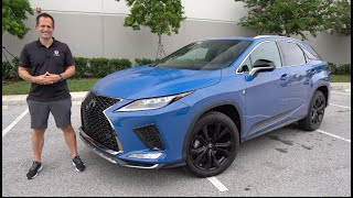 Is the NEW 2021 Lexus RX 350 F-Sport Blackline Edition WORTH the price?