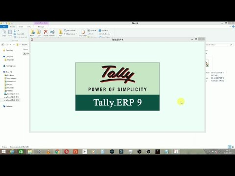 Tally ERP 9 Crack - Install Tally ERP 9 With Crack from YouTube · High Definition · Duration:  8 minutes 28 seconds  · 30,000+ views · uploaded on 12/27/2016 · uploaded by The Draenor