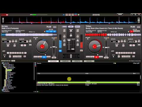 How to mix Hip-Hop music using VirtualDJ by DJ Shapeshifter.