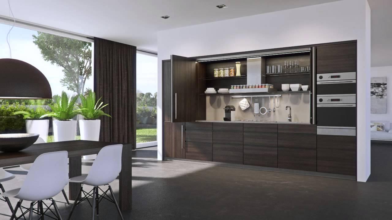 Hawa concepta sistemas para puertas abatibles e - Puerta abatible cocina ...