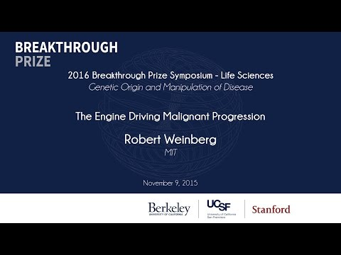 Robert Weinberg. The Engine Driving Malignant Progression
