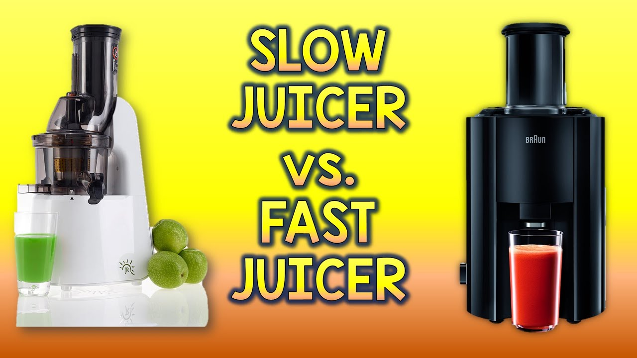 Difference Between Slow Juicer And Cold Press : Slow Juicer vs. Fast Juicer - Yield, Juice Taste and Fu... Doovi