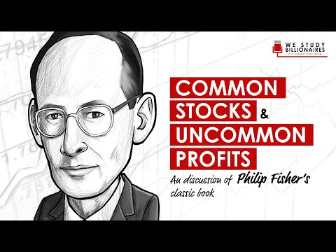 TIP102: COMMON STOCKS AND UNCOMMON PROFITS BY PHILIP FISHER