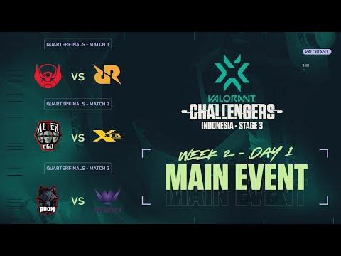 2021 VCT Stage 3 - Challengers Indonesia - Week 2 Main Event - Hari Ke - 1