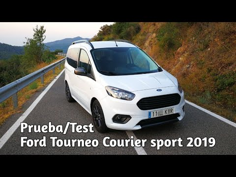 Prueba Test Ford Tourneo Courier Sport 2019 Youtube