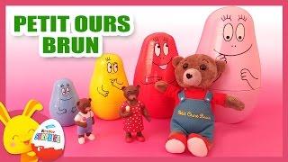 Petit Ours brun - Poupées gigognes - Poupées russes - Titounis