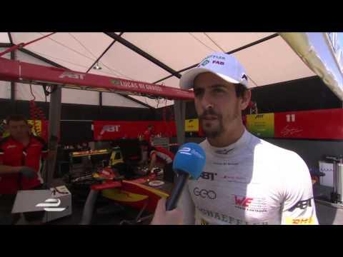 Buenos Aires ePrix Lucas di Grassi pre-race interview