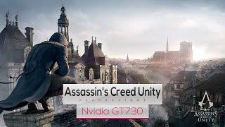 Assassin's Creed Unity on Intel Core 2 Quad Q8400 & Nvidia GT730