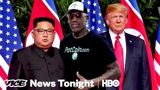 Dennis Rodman Wants A Nobel For Laying The Groundwork For The Trump-Kim Summit (HBO)
