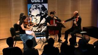 Beethoven String Quartet No. 1 in F Major,  Op. 18, No. 1 - Afiara String Quartet (Live)