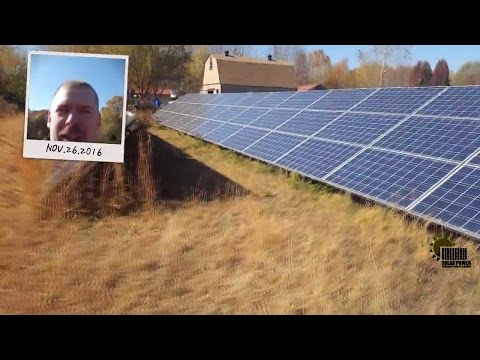 The Biggest Off Grid Solar Array Power System Ever Made!!! 17,500 Watts Of Solar!!!!!!!!!!