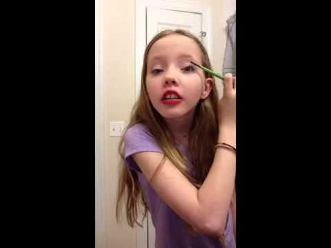 6th grade hair and makeup tutorial