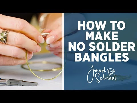 How to Make No Solder Bangles | Jewelry 101
