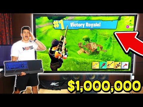 MOST EXPENSIVE FORTNITE GAMING SETUP! *WORLD RECORD*