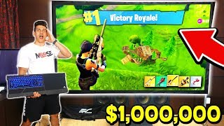 *WORLD RECORD* Most Expensive FORTNITE GAMING SETUP! (With MooseCraft)