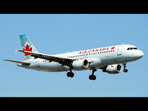 Air Canada Airbus A320-200 Preferred Seats Economy Vancouver to Montreal (YVR-YUL)