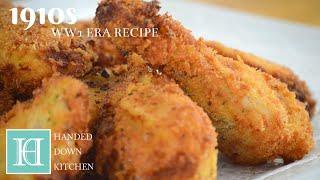 Fried Chicken Pembroke ◆ 1910s / WW1 Era Recipe
