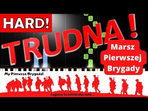 🎹 Pierwsza brygada (Marsz pierwszej brygady) - Piano Tutorial (TRUDNA! wersja) 🎹
