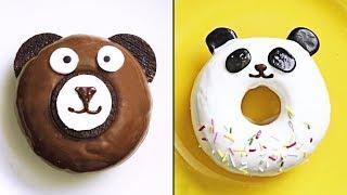 Вкусные и Красивые Идеи Украшения Пончиков | Торты, мини-кексы и многое другое
