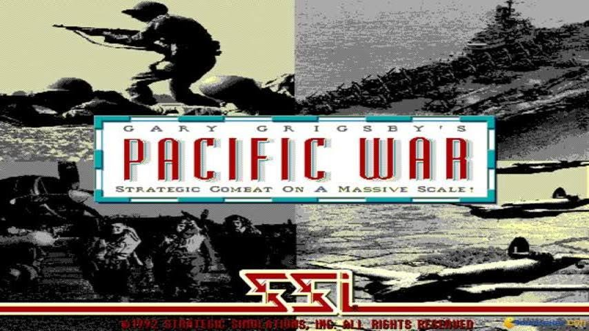 Gary Grigsby's Pacific War gameplay (PC Game, 1992)