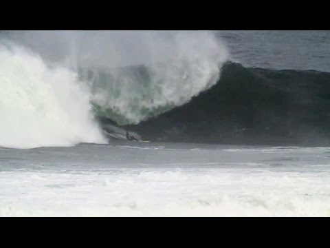 Peter Craig at Mullaghmore Head, Ireland  Worst Wipeout Nominee  Surfer Poll 2013