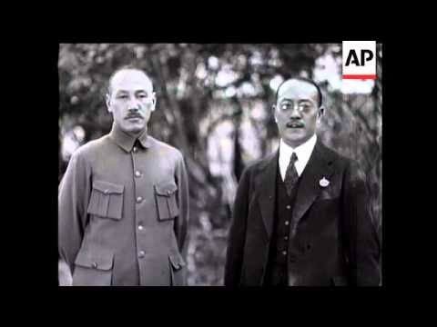President of China - Chiang Kai-shek - 1929