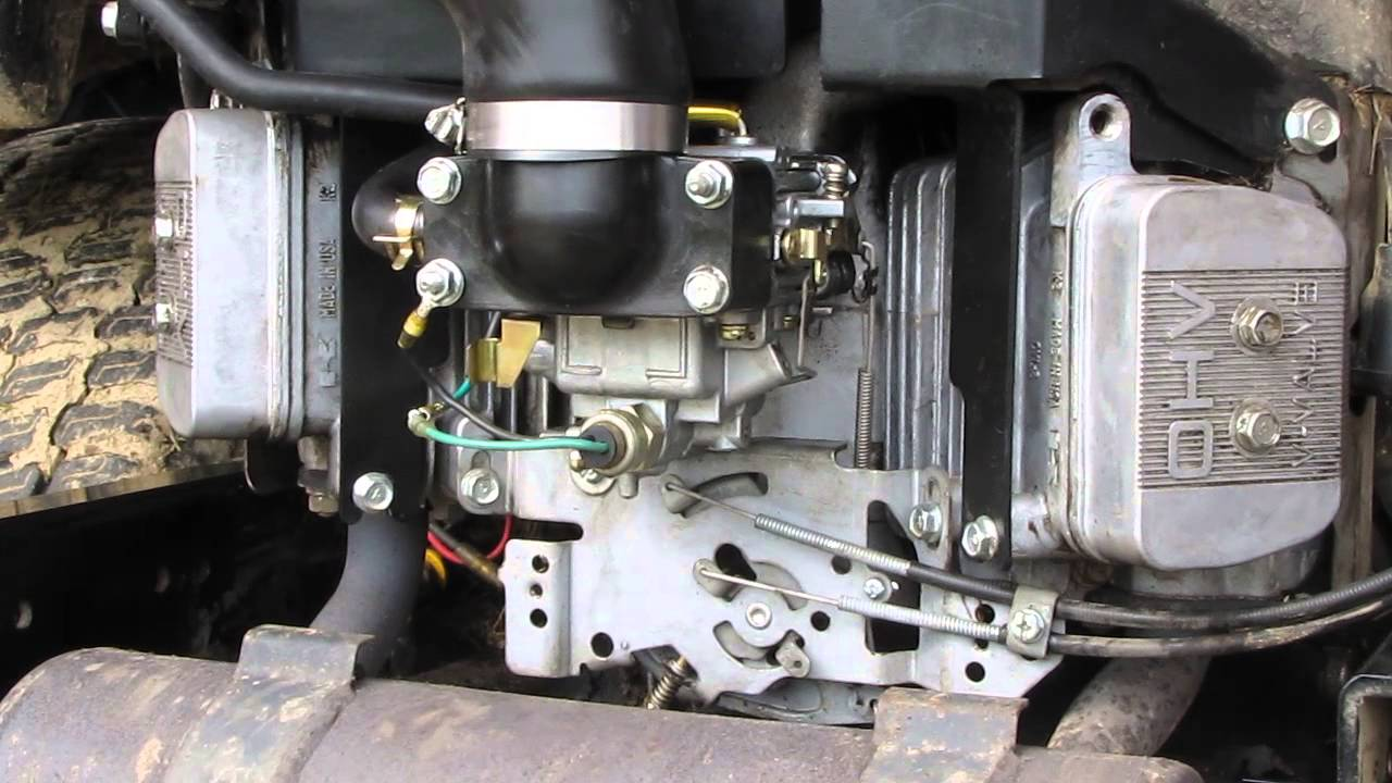Fh680v Linkages With Engine Running