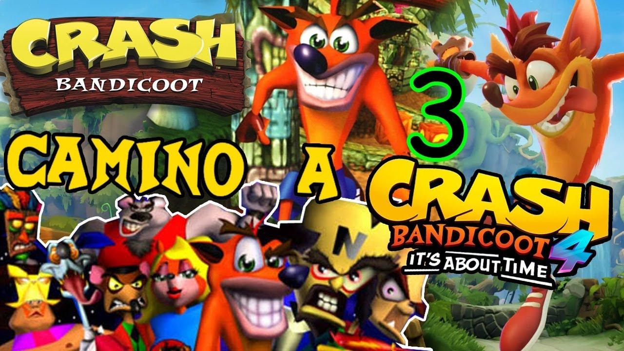 Camino a CRASH 4 [Parte 3] por Los Monos - Crash Bandicoot 1