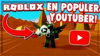 ⭐️ EN POPÜLER YOUTUBER OLUYORUZ & DOMINUS PLAY BUTTON !! 🔥 / YouTuber Simulator / Roblox Türkçe