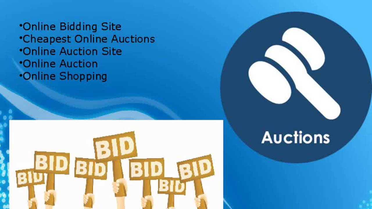Get the best online auction shopping site in surrey for Get bids