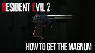 Resident Evil 2 Remake - How to Get The Magnum (Lightning Hawk)