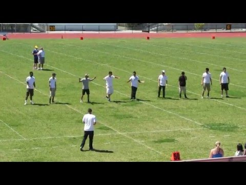 ALHS Powder Puff Cheerleaders 2012