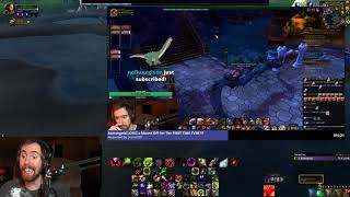 Asmongold live stream fails
