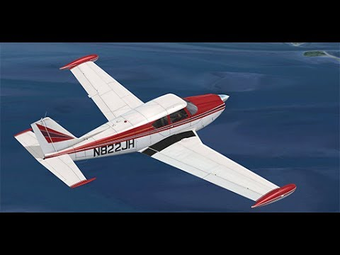 Piper PA24-250 Comanche by:  (A2ASimulations), with GTN750 installed.