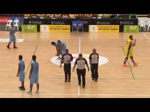 Pacific Games  2015   D5 BASKETBALL MEN  KIRBATI vs NAURU