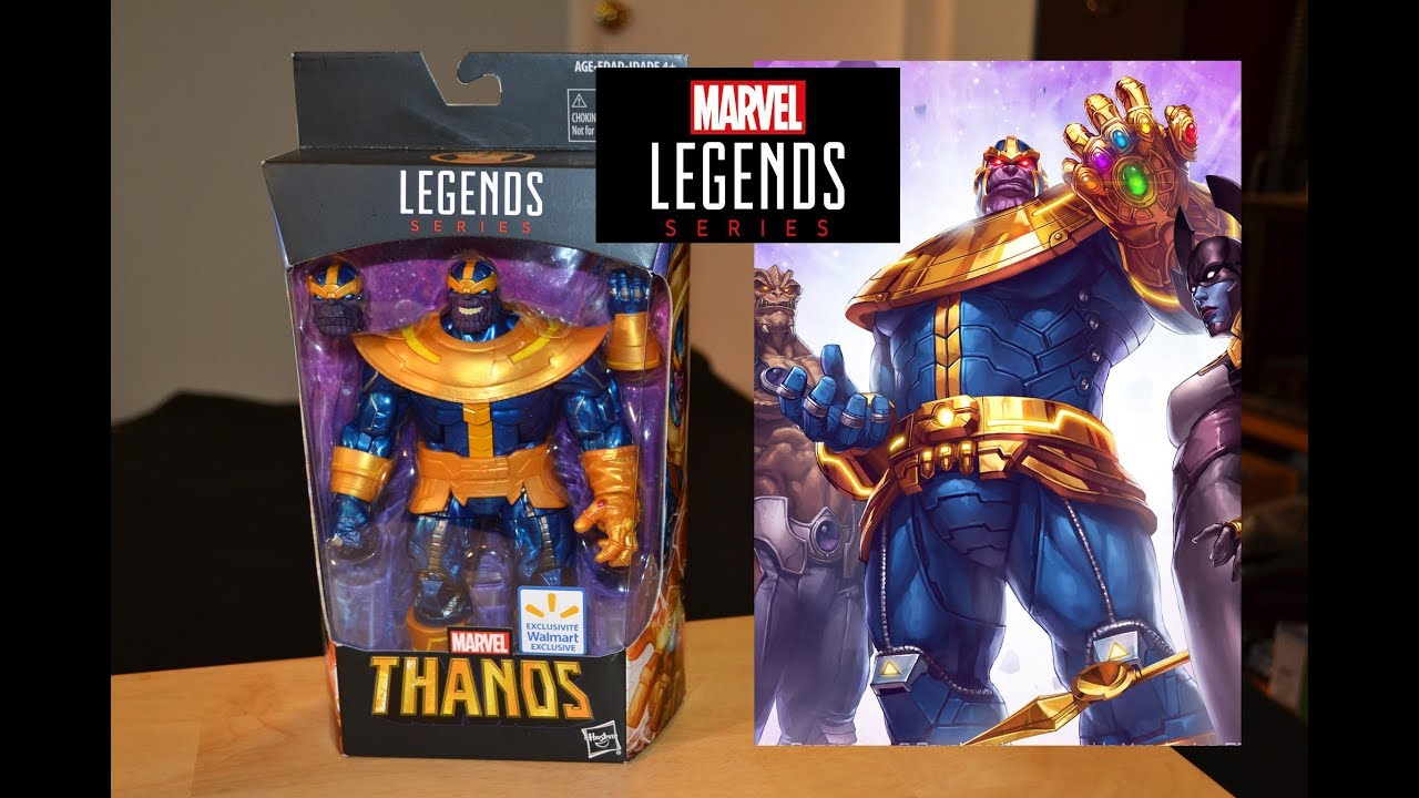 Marvel Legends Thanos 2018 Infinity Walmart Exclusive