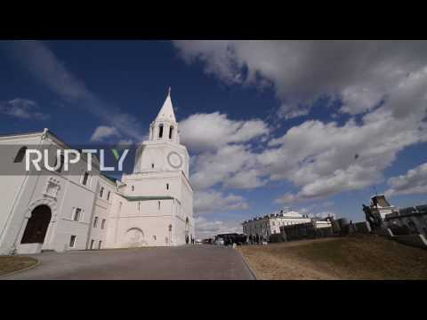 Russia: Kazan Arena gets ready for Confederations Cup